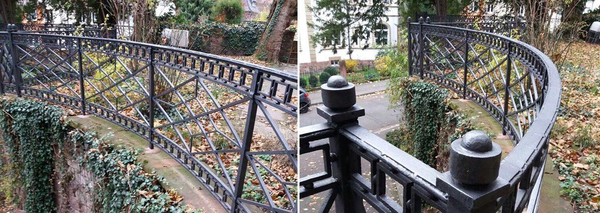 Erneuerung Geländer am European Study Center in Heidelberg