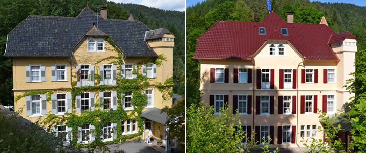 Sanierung Hotel Schloss Hornberg