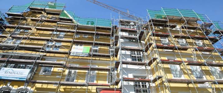 Sanierung Fassade Hotel Schloss Hornberg