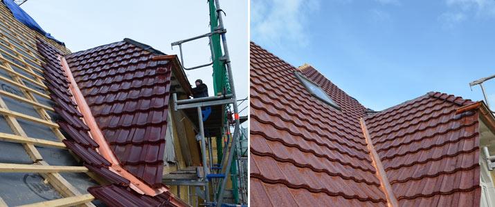 Sanierung Dachstuhl