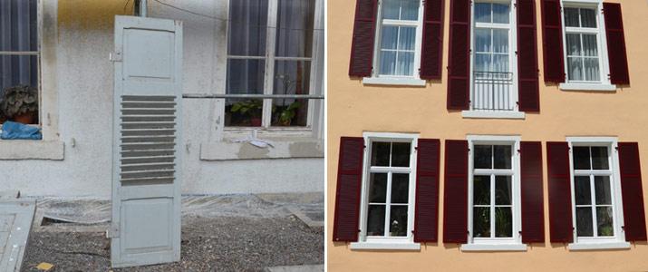 Sanierung Fenster und Fassade