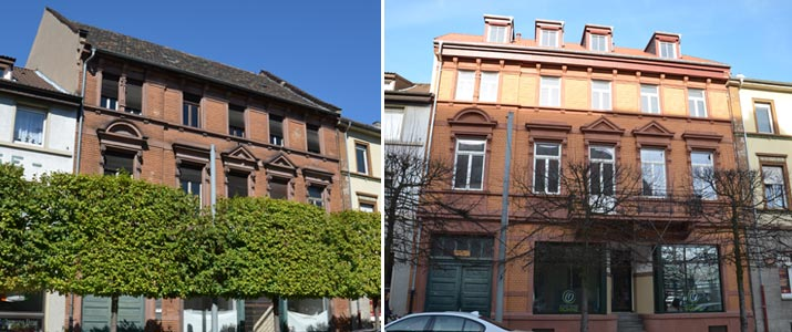 Sanierung Fassade Schwetzingen