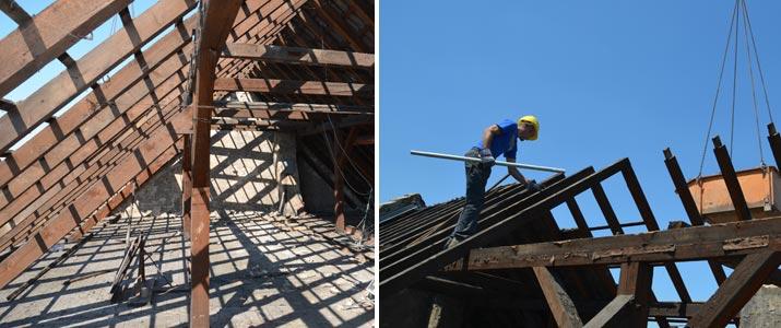 Sanierung Dach Schwetzingen