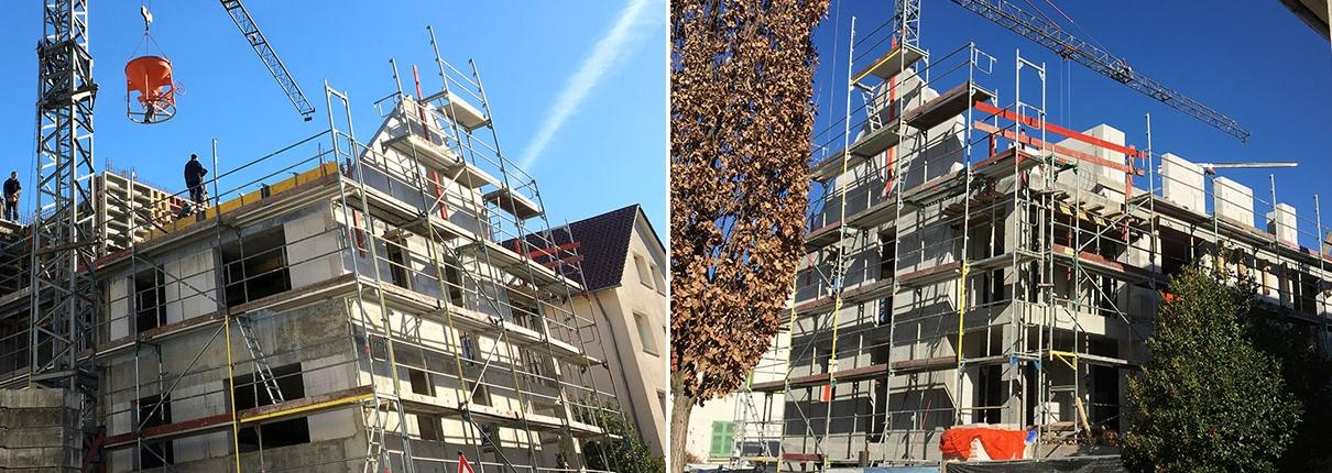 Neubau Wohnungen Besigheim Dachgeschoss