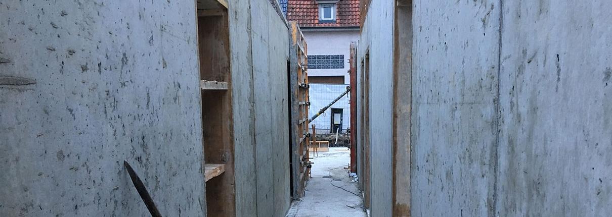 Rohbau Wohnungen Besigheim Erdgeschoss
