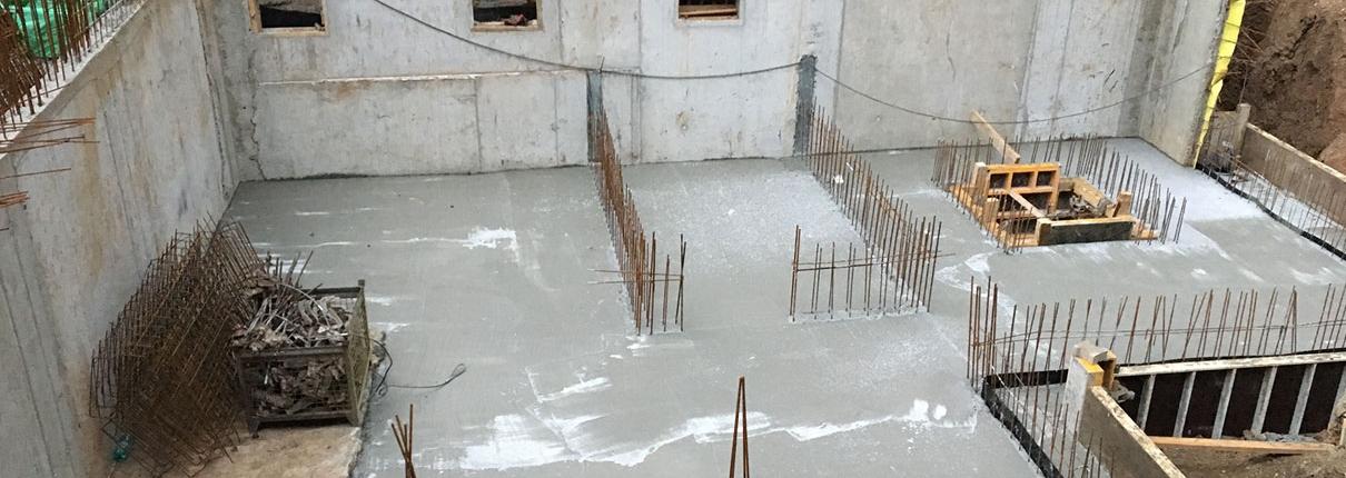 Rohbau Wohnungen Besigheim Kellergeschoss