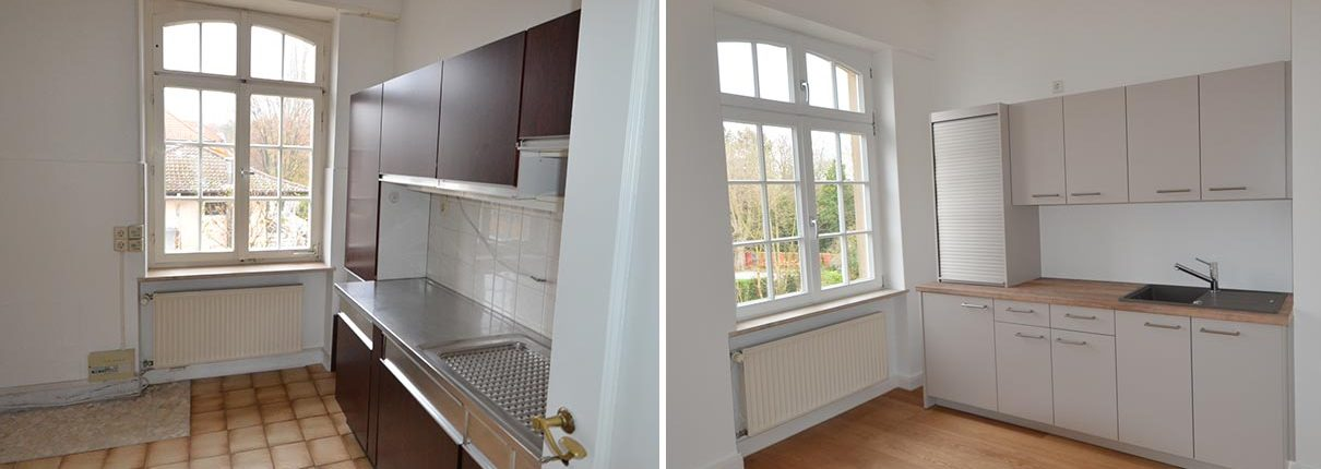 Küche Sanierung Villa Mannheim
