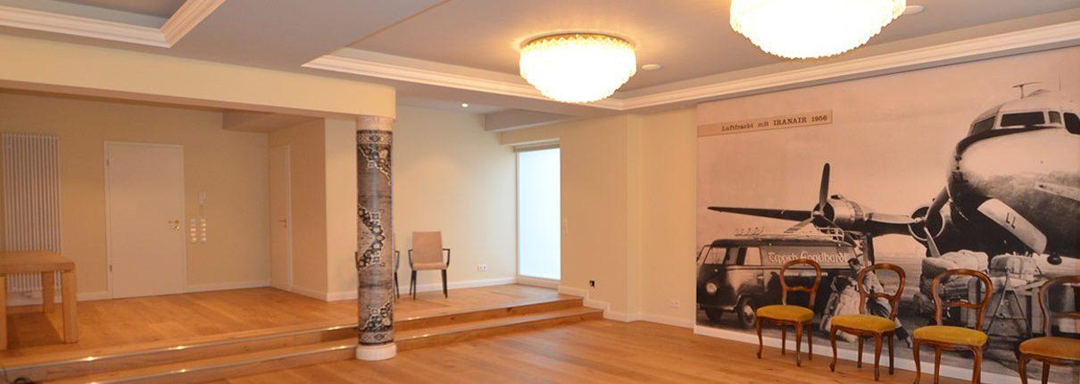 Sanierung und Umbau Villa Mannheim Innenraumgestaltung