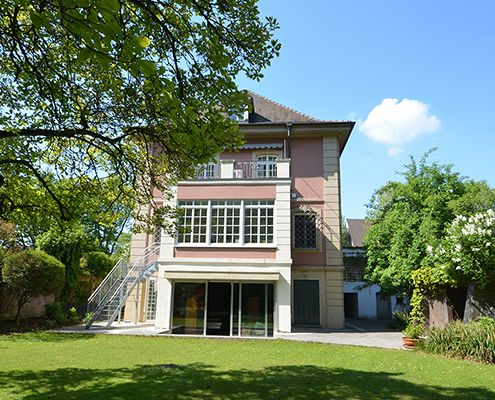 Villa am Oberen Luisenpark in Mannheim
