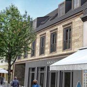 Neubau Wohn- und Geschäftshaus, Mannheimer Straße in Schwetzingen