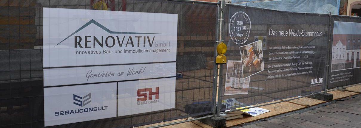 Neubau Welde Stammhaus in Schwetzingen