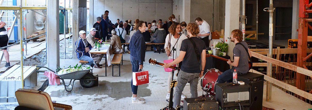 Richtfest Neubau Welde-Stammhaus Schwetzingen