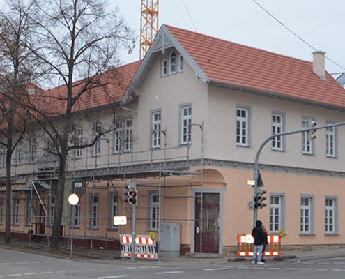 Sanierung Ludwigsburg - Sanierung Fassade und Dach